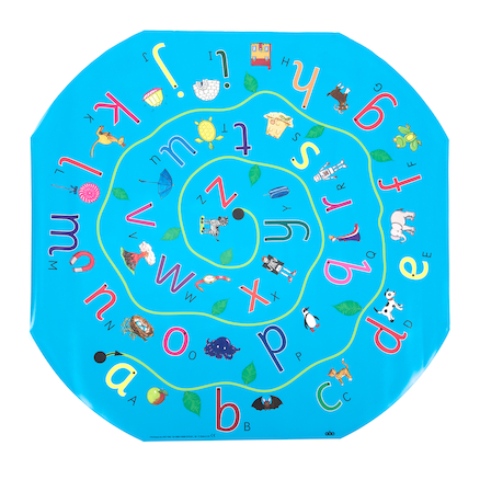 Active World Alphabet Sorting Mat  large