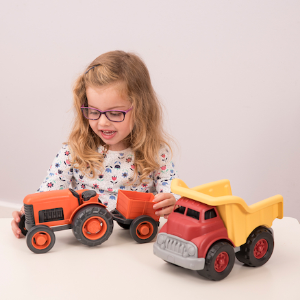 Tractor and Dump Truck Set  large