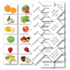 Matching Fruit and Vegetable Cards 144pk  small
