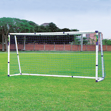 Multi Size PVC Football Goal and Net 12ft  medium