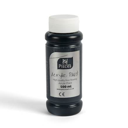 Pisces Acrylic Paint 500ml  large