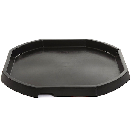 Plastic Active World Tray 3pk Multi  large