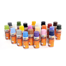 Molotow Workshop Spray Paint Kit 400ml 23pk  medium