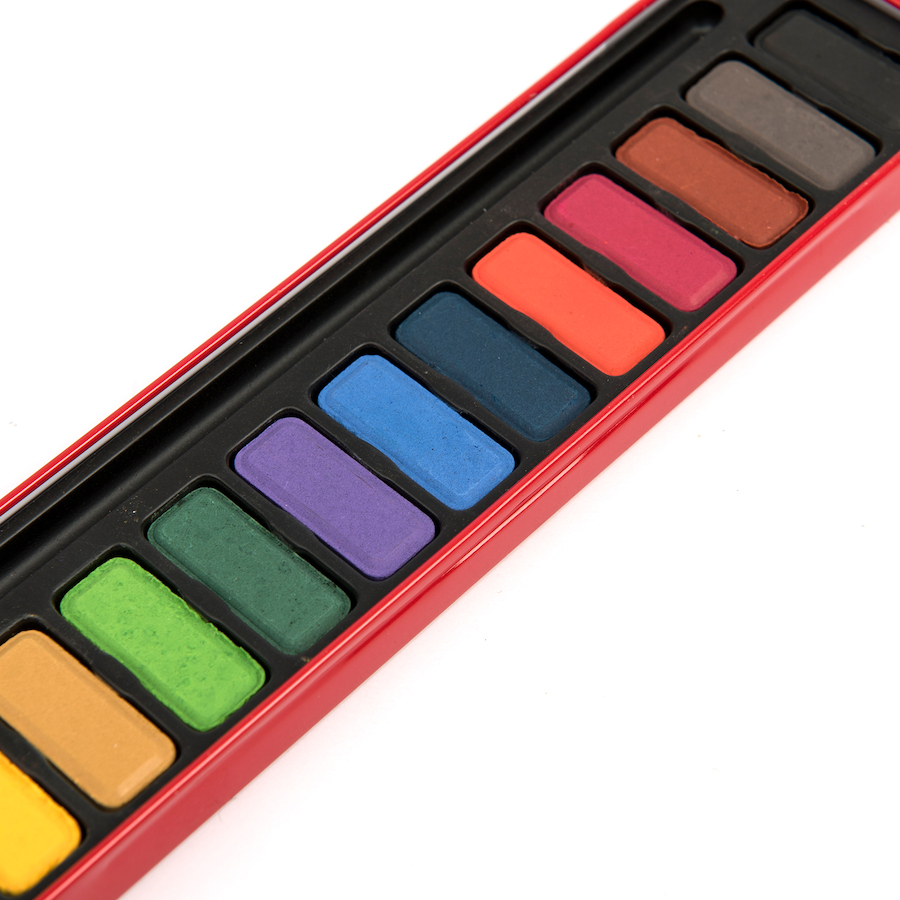 Buy Watercolour Paint Tin | TTS
