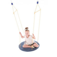 Therapeutic Round Suspended Platform Swing  medium