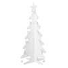 Kid\-Eco Cardboard Christmas Tree \- White  small