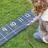 Outdoor Chalkboard Number Tracks 1\-20  small