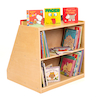 Book Display Unit with Storage  small