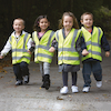 High Visibility Vests 4pk  small