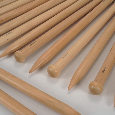 Giant Bamboo Knitting Needles  large