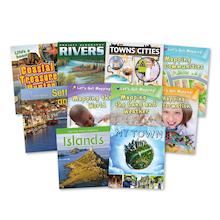 Community and Settlements Book Pack KS2 10pk  medium