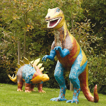 Adventures with Dinosaurs Giant Mache Figures  medium