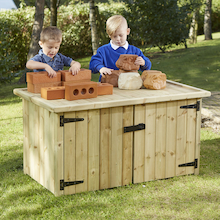 Outdoor Storage Table  medium
