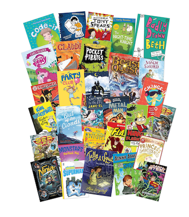 Years 3 to 6 Best Newly Released Books 30pk  large