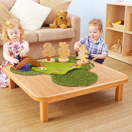 Toddler Wooden Creative Low Table  large