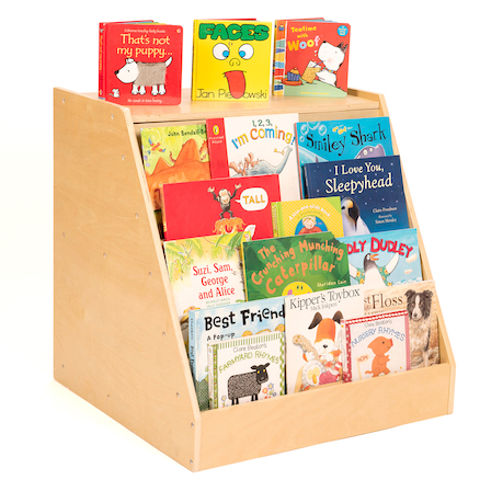 Book Display Unit with Storage  large