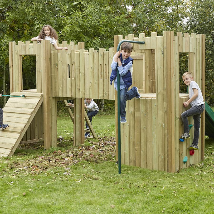 Buy Outdoor Wooden Castle Tts