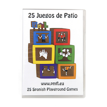 25 Spanish Playground Games DVD  medium