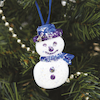 Assorted Polystyrene Christmas Decorations 35pk  small