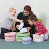 Stacking and Nesting Fabric Storage Boxes  small