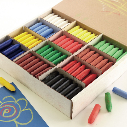 Chubbie Stump Crayons and Chalks Assorted 288pk  large