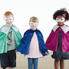 Super Hero Dress Up Set 2, Cape, Mask and Gauntlet  small