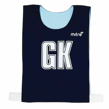 Mitre Netball Mesh Bibs Medium Size 7pk Red  medium