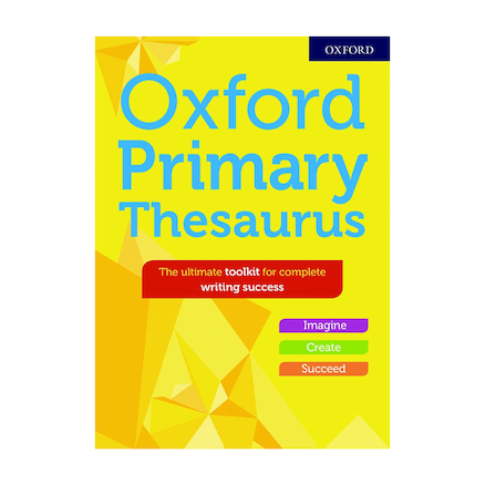 Oxford Primary Thesaurus  large