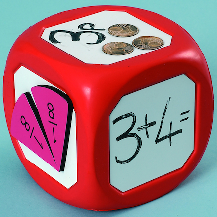 Giant Wipe Clean Magnetic Dice Single  large