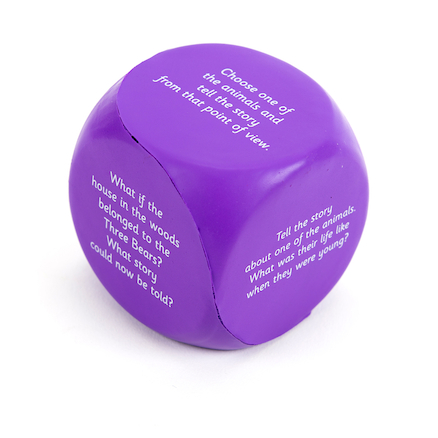Telling Tales Foam Dice  large