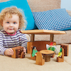 Woodland Wooden Small World Kitchen Furniture  small