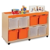 Bubblegum 8 Jumbo Tray Storage Unit  small