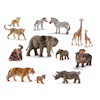 Schleich African Animals and Their Young Set 14pcs  small