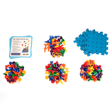 Geo Pegboard Activity Set  large