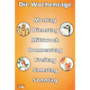 German Vocabulary Beginners A4 Posters 6pk  small