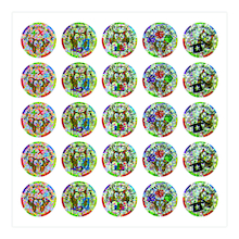Sparkly Maths Stickers 250pk  medium