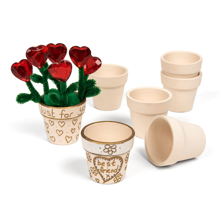 Terracotta Craft Flower Pots H46mm 48pk  large