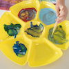 Assorted Colour Flower Sorting and Paint Trays 6pk  small