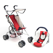 Role Play Dolls Pram and Carrier Set  medium