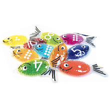 Sensory Fish Set 10pk  medium