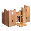 Small World Natural Wooden Castle  small