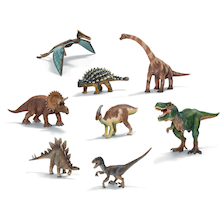Small World Schleich Dinosaurs Set 8pcs  medium