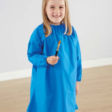 Messy Play Waterproof Poncho 6pk 5\-6yrs  large