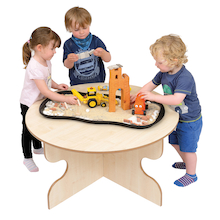 Round Indoor Table for Early Years  medium