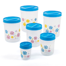 Assorted Size Lidded Container Set 6pk  medium