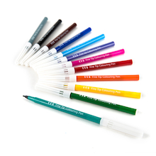 TTS Everyday Colouring Fibre Tip Pens Assorted  medium