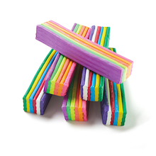 Rainbow And Neon Modelling Clay 3kg 6pk  medium
