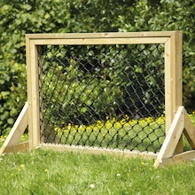 Outdoor Weaving Net in Wooden Frame  medium