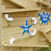 Outdoor Wooden Water Wall  small