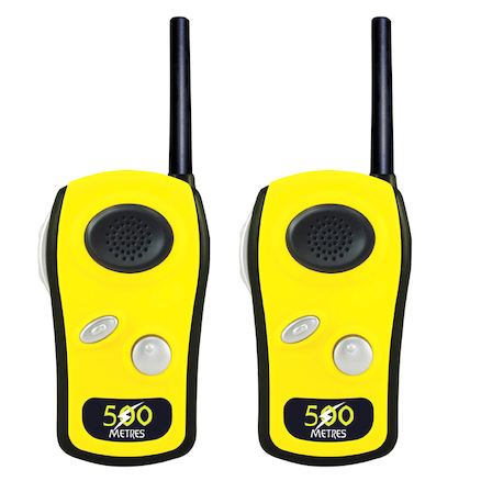 Yellow Long Range Walkie Talkies  large